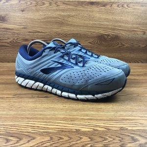 Brooks Beast 18 Navy Blue Trail Running Sneakers